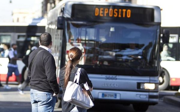 Public transport strike in Rome 10 June