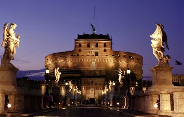 Summer nights at Castel S. Angelo