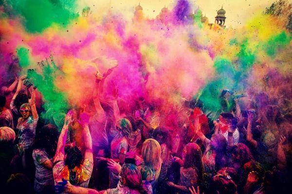 Holi Festival of Colours in Rome