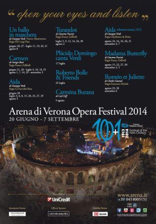 Verona Opera Season