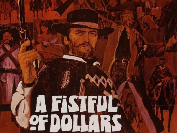 A Fistful of Dollars showing in Rome