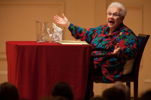Marilyn Horne at American University of Rome