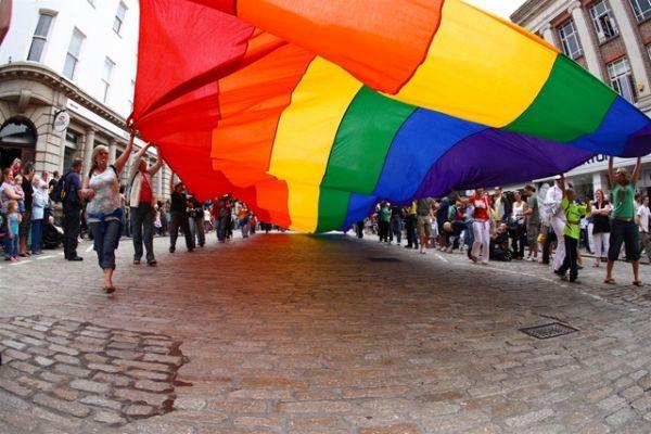 Gay Pride in Rome