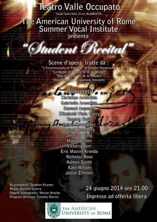 AUR Summer Vocal Institute
