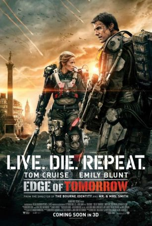 Edge of Tomorrow showing in Rome