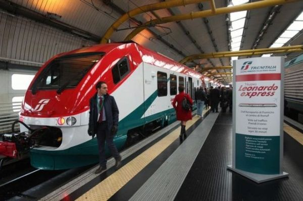 Fast trains to Rome's Fiumicino airport