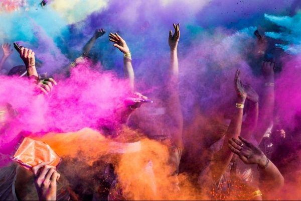 The Color Run in Rome