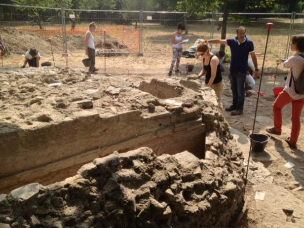 Mausoleum discovered at Rome's Ostia Antica