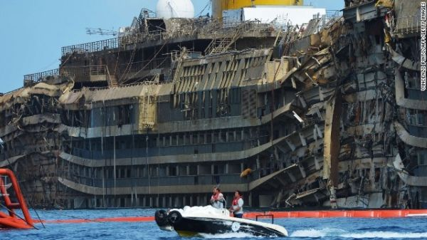 Costa Concordia to be scrapped in Genoa