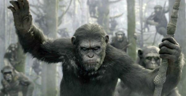 Dawn of the Planet of the Apes showing in Rome