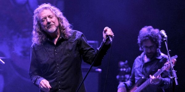 Robert Plant in Rome