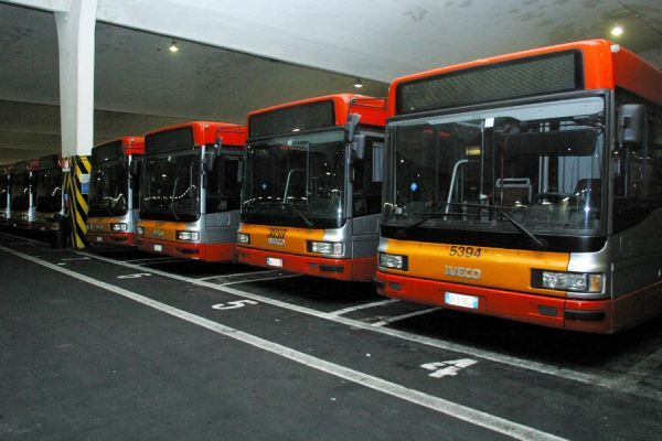 Changes to Rome bus routes