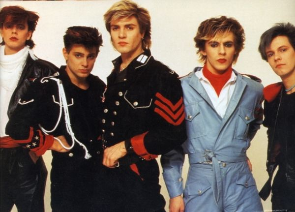 Duran Duran unstaged showing in Rome