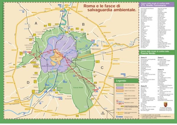 Rome plans traffic toll to enter city