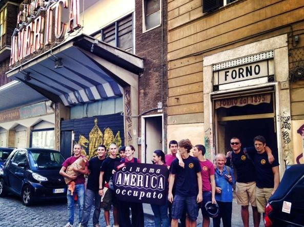 Return of Rome's Cinema America Occupato