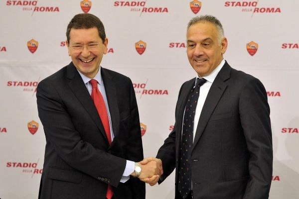 Rome backs AS Roma stadium