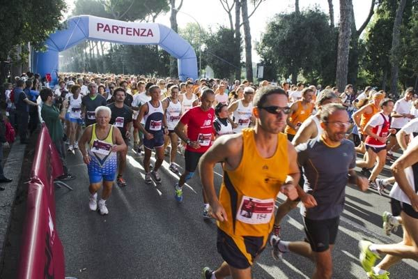 Hunger Run in Rome