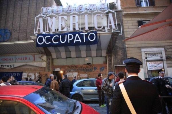 Rome's Cinema America Occupato cleared