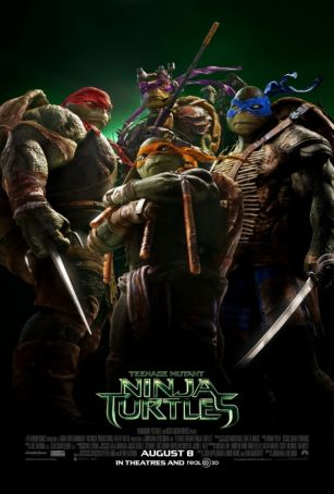 Teenage Mutant Ninja Turtles showing in Rome