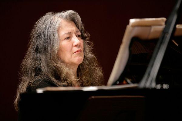 Martha Argerich at S. Cecilia