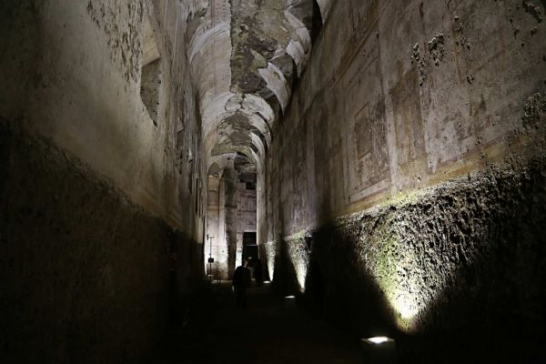 Rome's Domus Aurea reopens to visitors