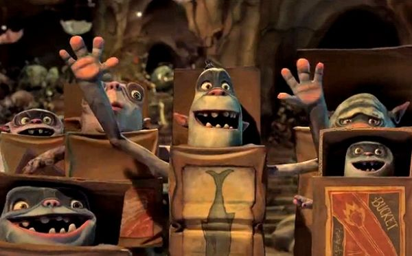 The Boxtrolls showing in Rome