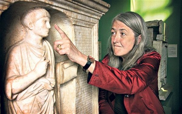 Mary Beard at American University of Rome