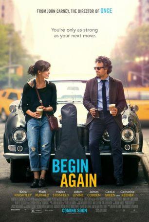 Begin Again showing in Rome