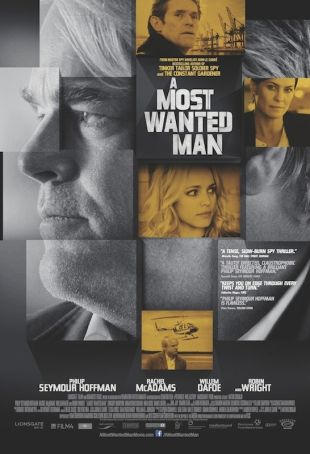 A Most Wanted Man showing in Rome
