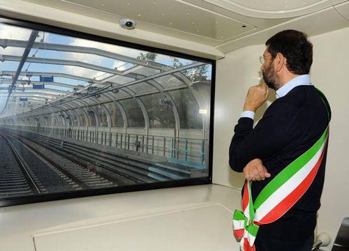 Bad start for Rome's Metro C