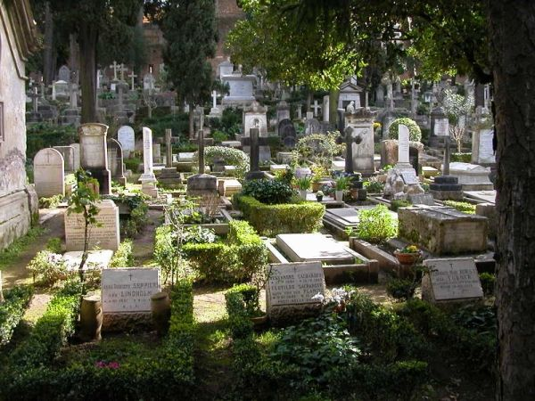 Non-Catholic Cemetery in Rome
