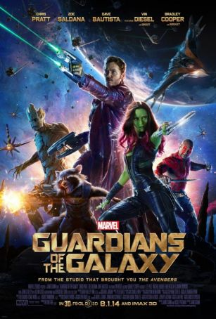 Guardians of the Galaxy showing in Rome
