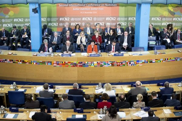 Global nutrition summit meets in Rome