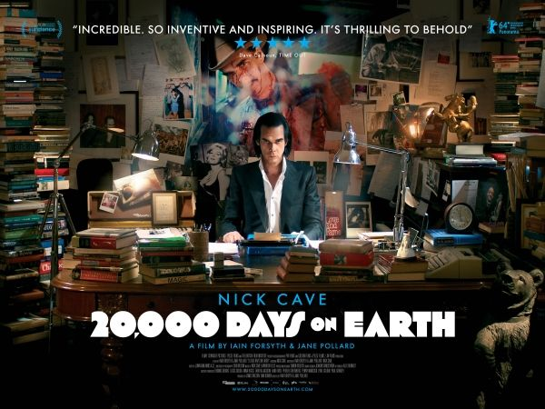 Nick Cave: 20,000 Days on Earth showing in Rome