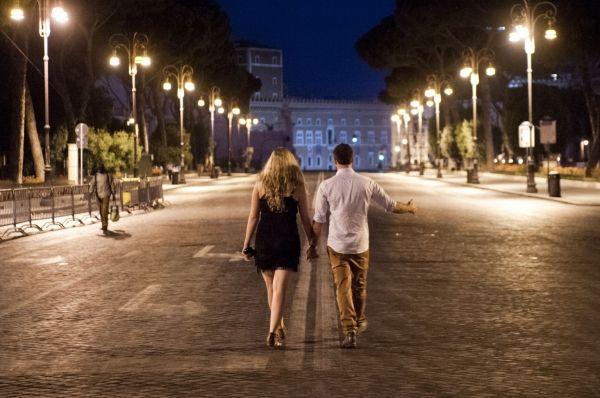 Rome's Via dei Fori Imperiali pedestrianised for Christmas