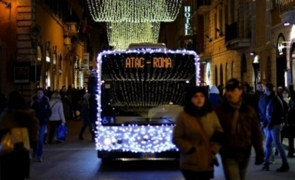 Rome's Christmas traffic plan
