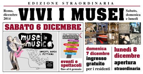 Long weekend of special events at Rome's museums