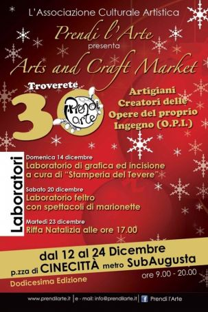 Arts and Craft Market in Cinecittà