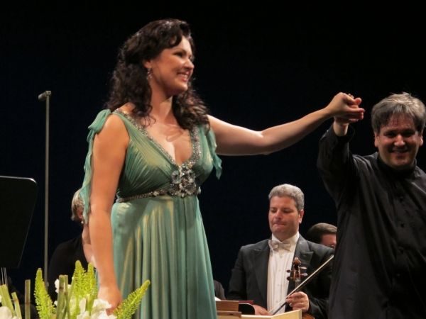 Antonio Pappano and Anna Netrebko
