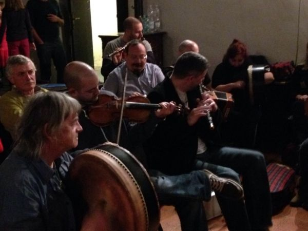 Traditional Irish music festival in Rome