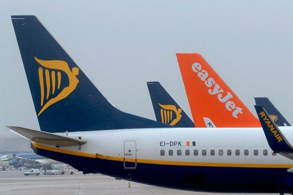 Ryanair and easyJet cancel flights