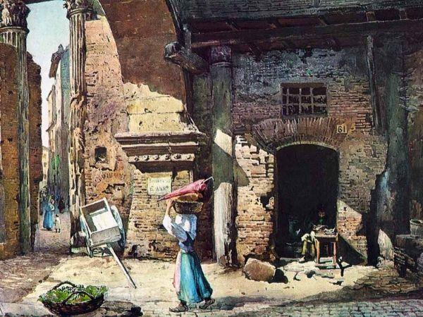 La Roma di Ettore Roesler Franz