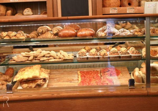 Il Forno bakery in Rome