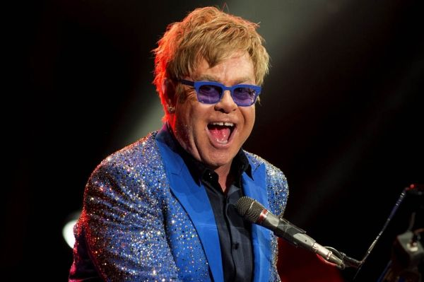 Elton John concert in Rome