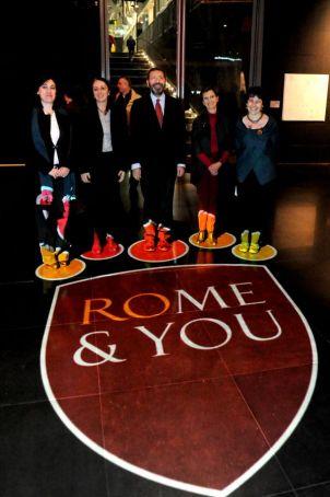 New logo for Rome
