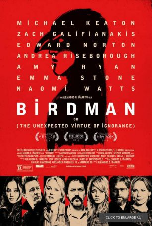 Birdman showing in Rome