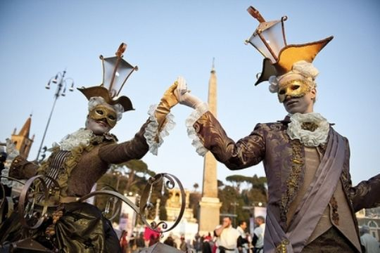 Carnival in Rome