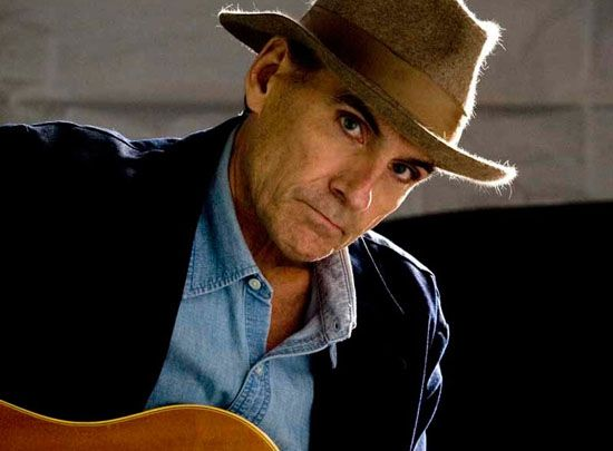 James Taylor in Rome