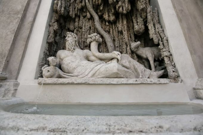 Rome's Quattro Fontane monuments restored
