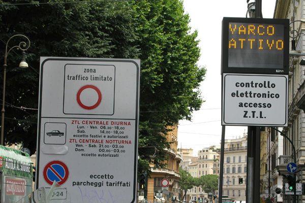 Court blocks increase of Rome's ZTL